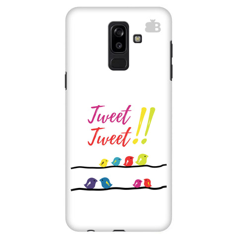 Tweet Tweet Samsung J8 Plus Cover