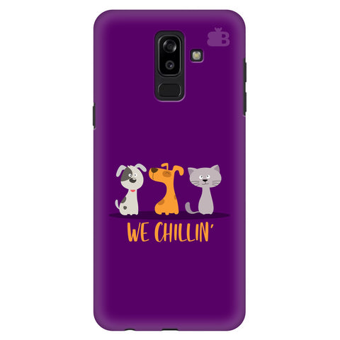We Chillin Samsung J8 Plus Cover