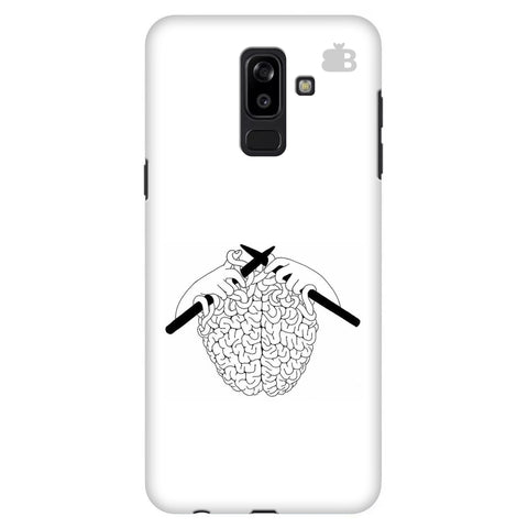 Weaving Brain Samsung J8 Plus Cover
