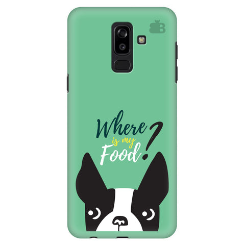 Where is my Food Samsung J8 Plus Cover