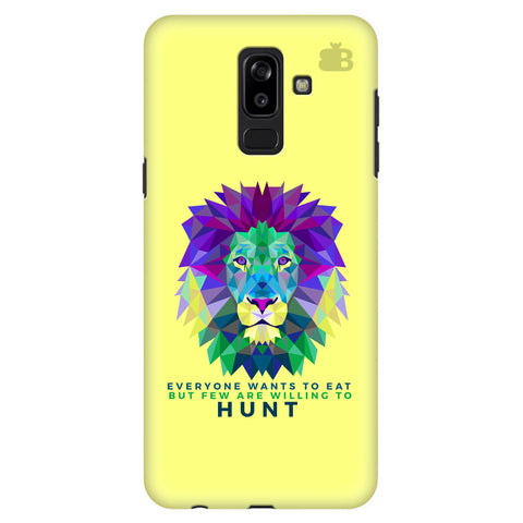 Willing to Hunt Samsung J8 Plus Cover