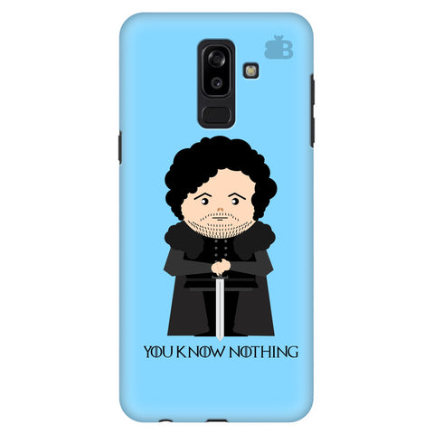 You Know Nothing Samsung J8 Plus Cover