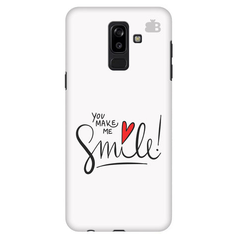 You make me Smile Samsung J8 Plus Cover