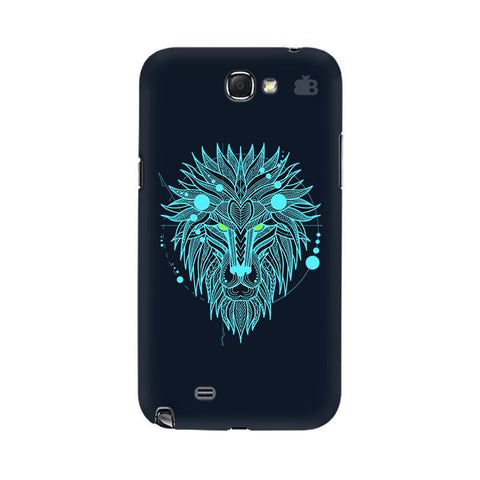 Abstract Art Lion Samsung Note 2 Cover