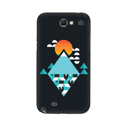 Abstract Mountains Samsung Note 2 Cover