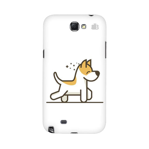 Happy Puppy Samsung Note 2 Cover