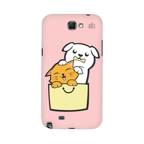 Kitty Puppy Buddies Samsung Note 2 Cover