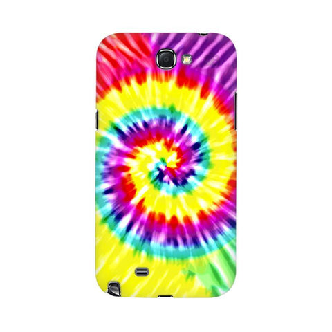 Tie & Die Art Samsung Note 2 Cover