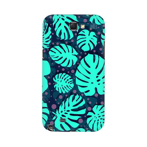 Tropical Leaves Pattern Samsung Note 2 Cover