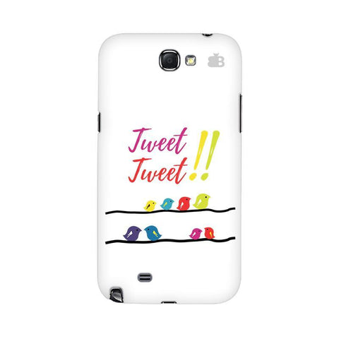 Tweet Tweet Samsung Note 2 Cover