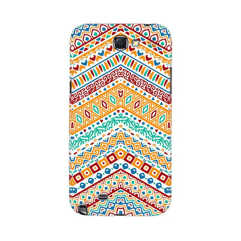 Wavy Ethnic Art Samsung Note 2 Cover