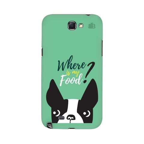 Where is my Food Samsung Note 2 Cover