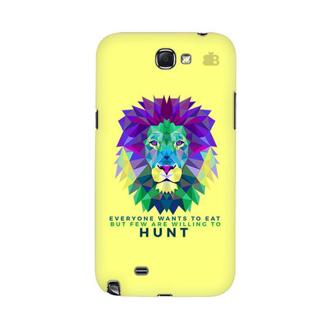 Willing to Hunt Samsung Note 2 Cover