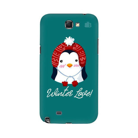 Winter Love Samsung Note 2 Cover