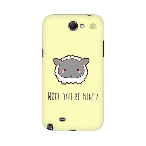 Wool Samsung Note 2 Cover