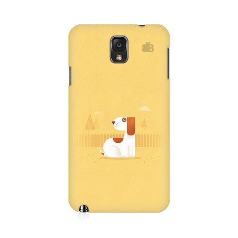 Calm Dog Samsung Note 3 Cover