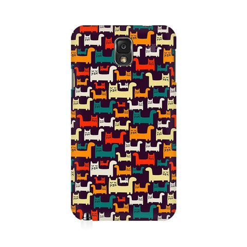 Chill Cats Samsung Note 3 Cover