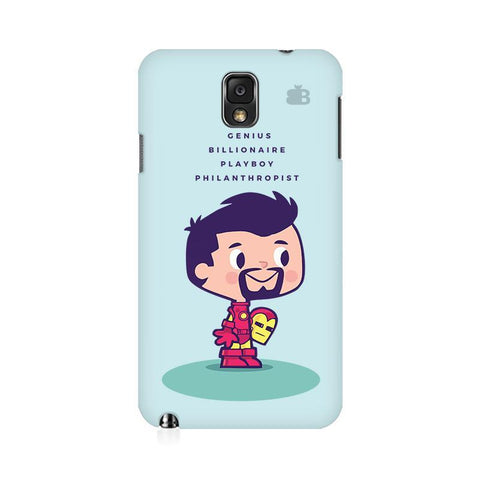Clever Superhero Samsung Note 3 Cover