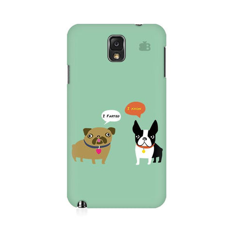 Cute Dog Buddies Samsung Note 3 Cover