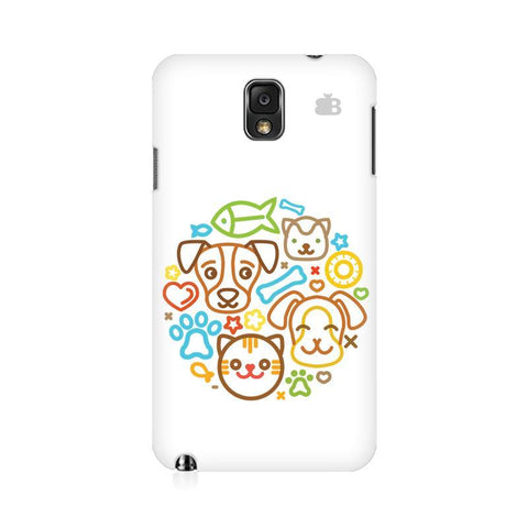 Cute Pets Samsung Note 3 Cover