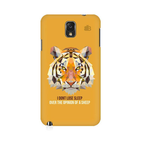 Dont Lose Sleep Samsung Note 3 Cover