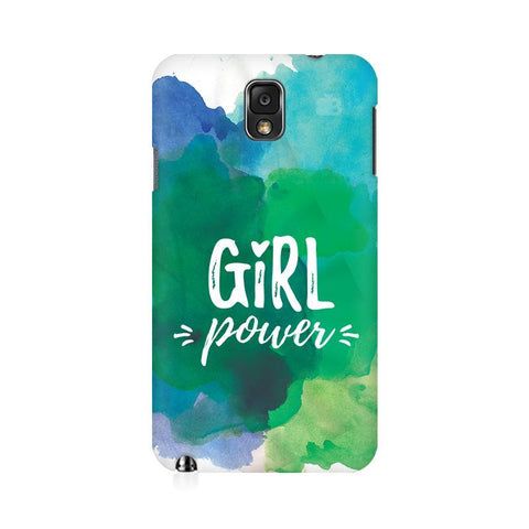 Girl Power Samsung Note 3 Cover