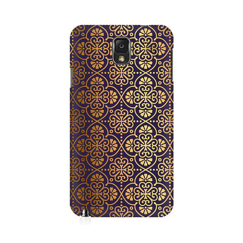 Gold Ornament Samsung Note 3 Cover