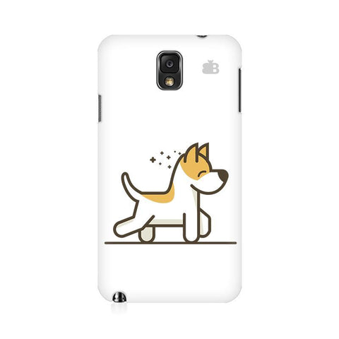 Happy Puppy Samsung Note 3 Cover