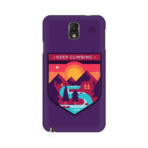 Keep Climbing Samsung Note 3 Cover