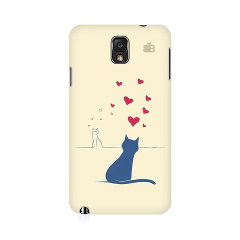 Kitty in Love Samsung Note 3 Cover