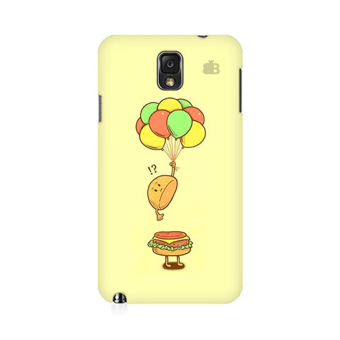 Light Burger Samsung Note 3 Cover