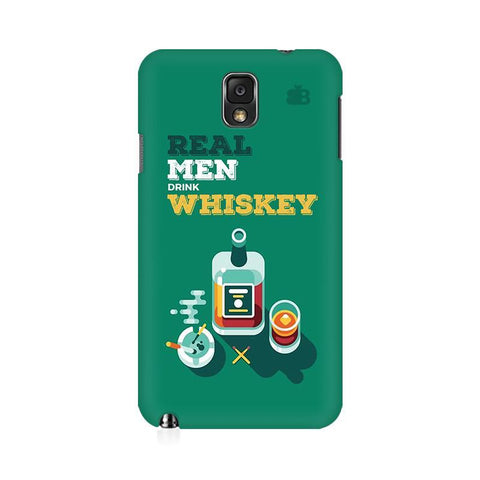 Men and Whiskey Samsung Note 3 Cover