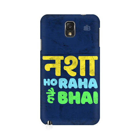 Nasha Bhai Samsung Note 3 Cover