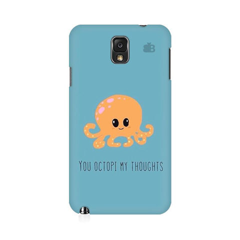 Octopi Thoughts Samsung Note 3 Cover