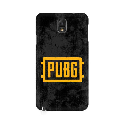 PUBG Samsung Note 3 Cover