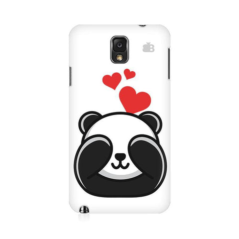 Panda In Love Samsung Note 3 Cover