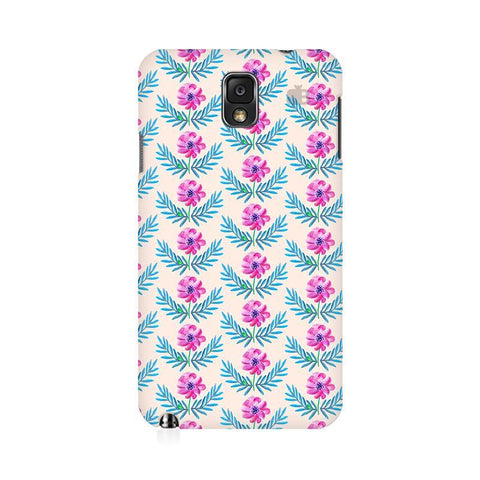 Pink Watercolor Pattern Samsung Note 3 Cover