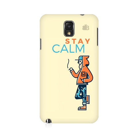 Stay Calm Samsung Note 3 Cover