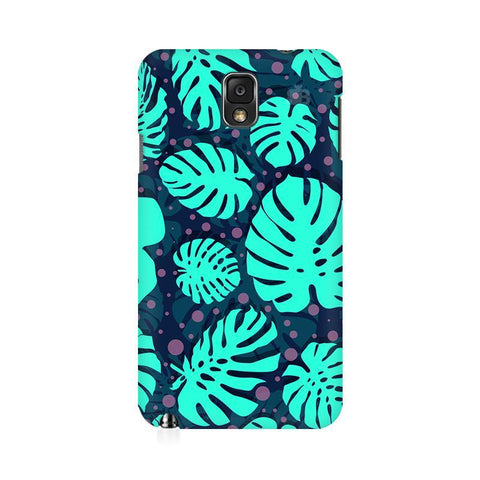 Tropical Leaves Pattern Samsung Note 3 Cover