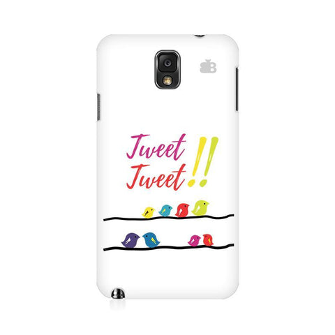 Tweet Tweet Samsung Note 3 Cover