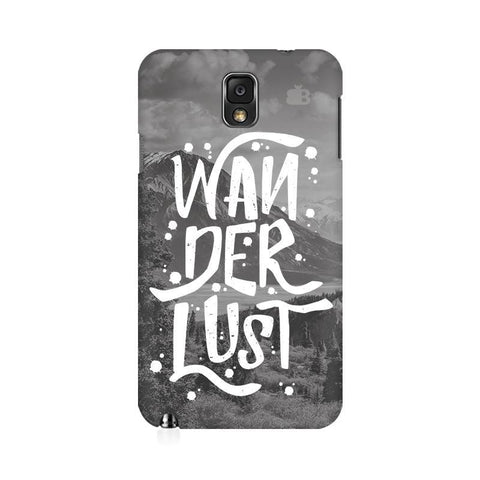 Wanderlust Samsung Note 3 Cover