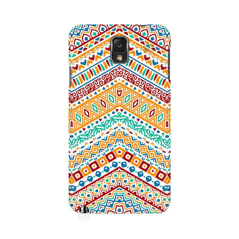 Wavy Ethnic Art Samsung Note 3 Cover