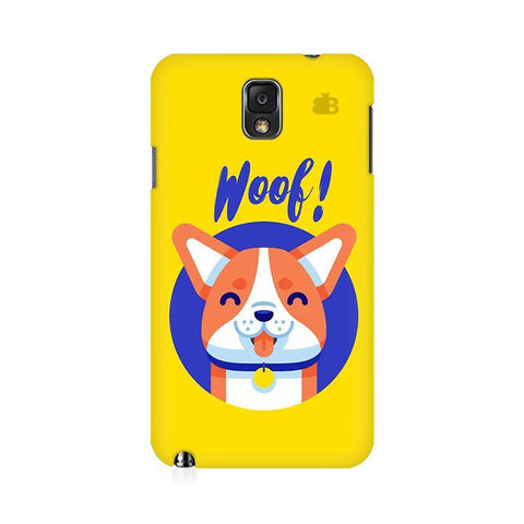 Woof Samsung Note 3 Cover