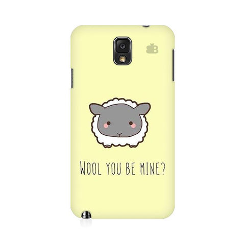 Wool Samsung Note 3 Cover