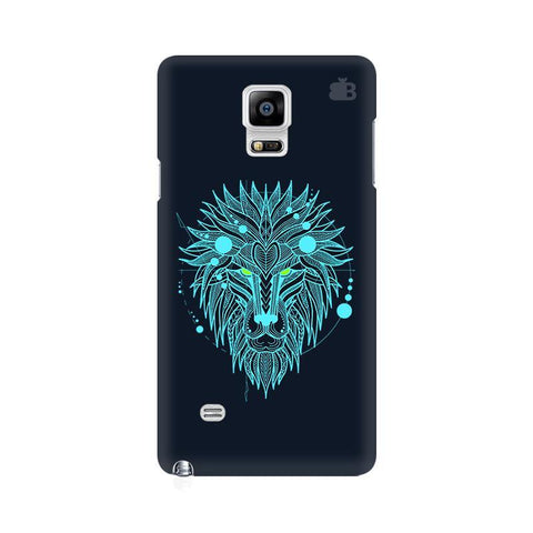 Abstract Art Lion Samsung Note 4 Cover