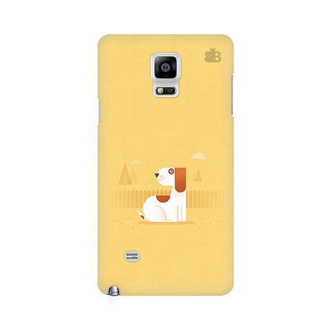 Calm Dog Samsung Note 4 Cover