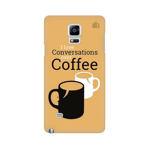Convos over Coffee Samsung Note 4 Cover