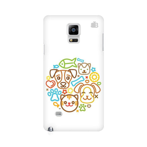 Cute Pets Samsung Note 4 Cover
