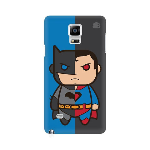 Cute Superheroes Annoyed Samsung Note 4 Cover