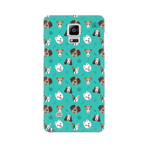 Doggie Pattern Samsung Note 4 Cover